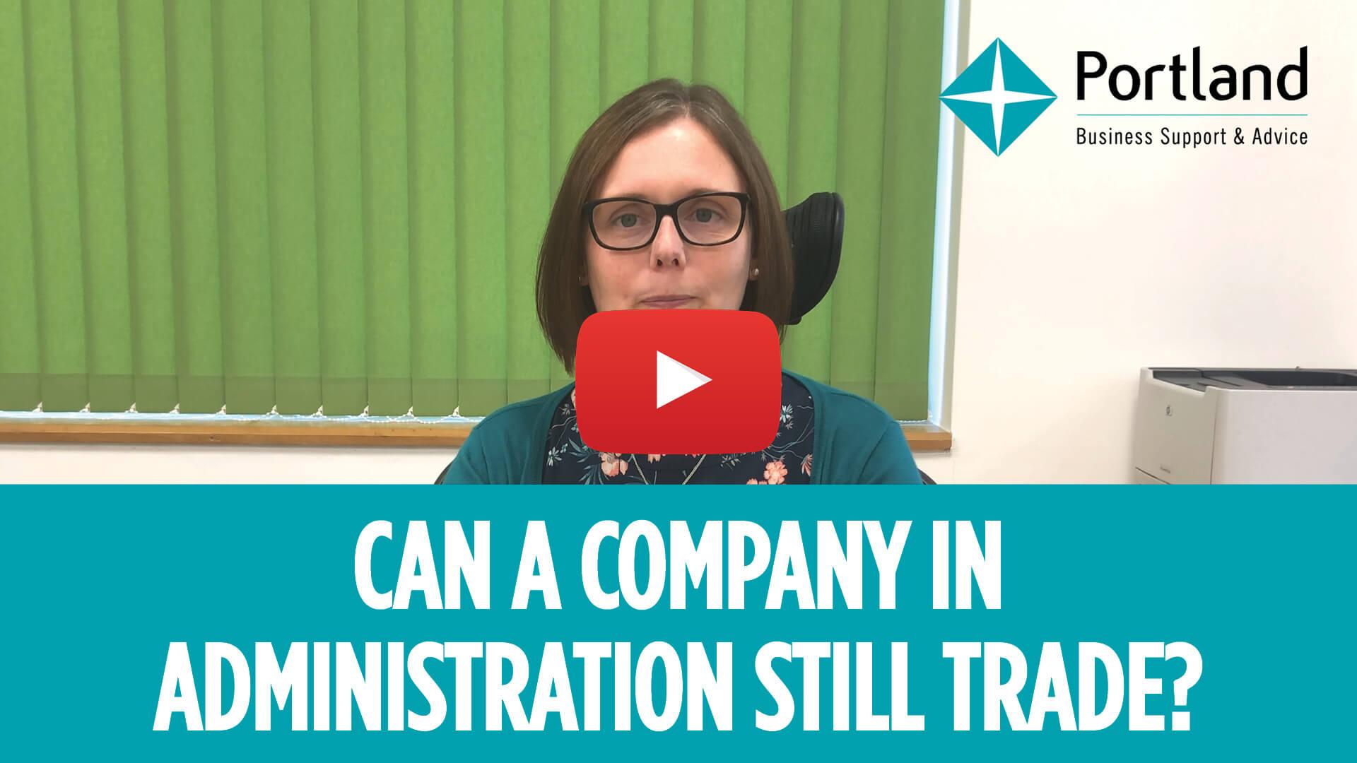 company Administration trade