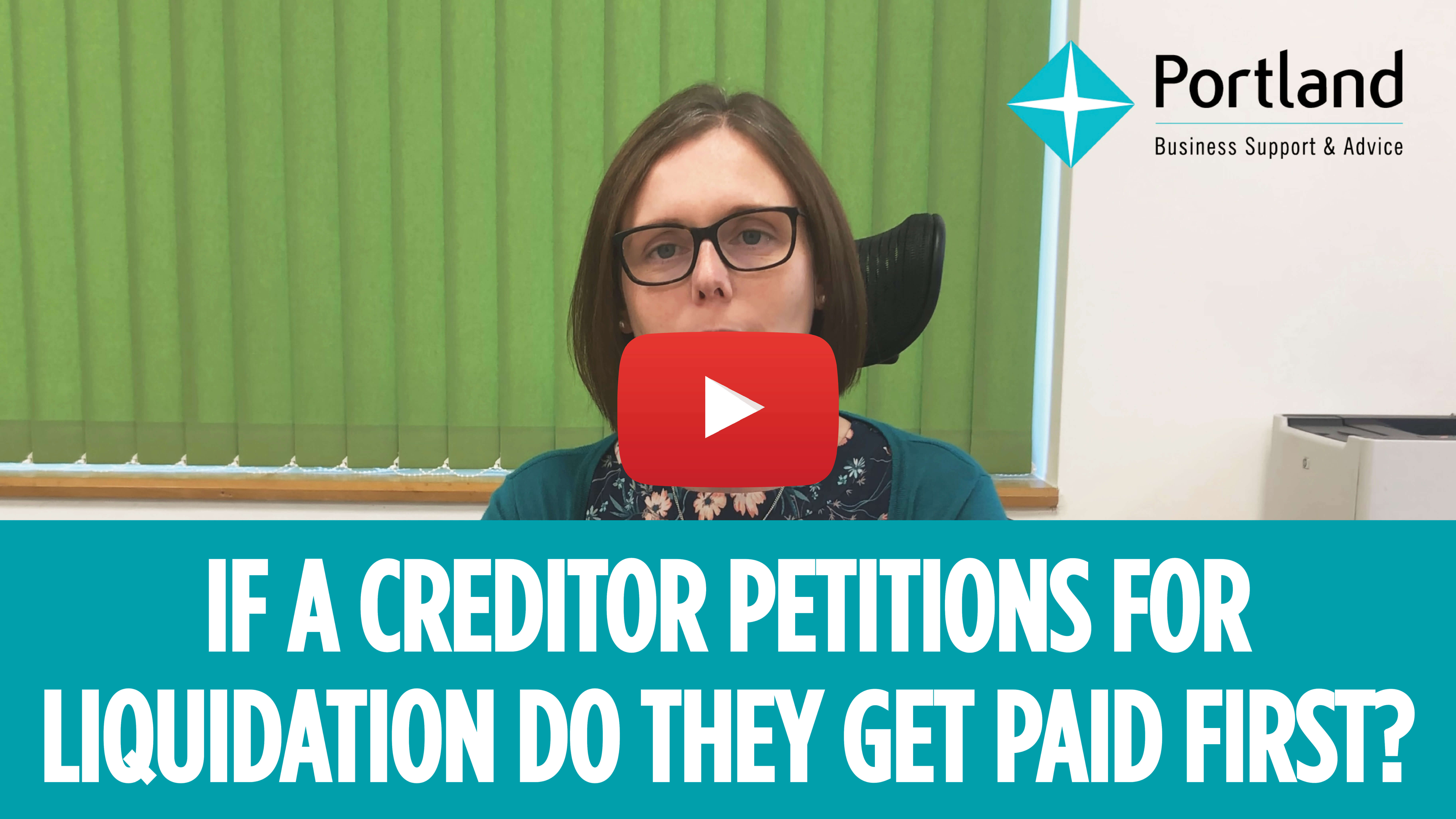 creditor petitions for liquidation
