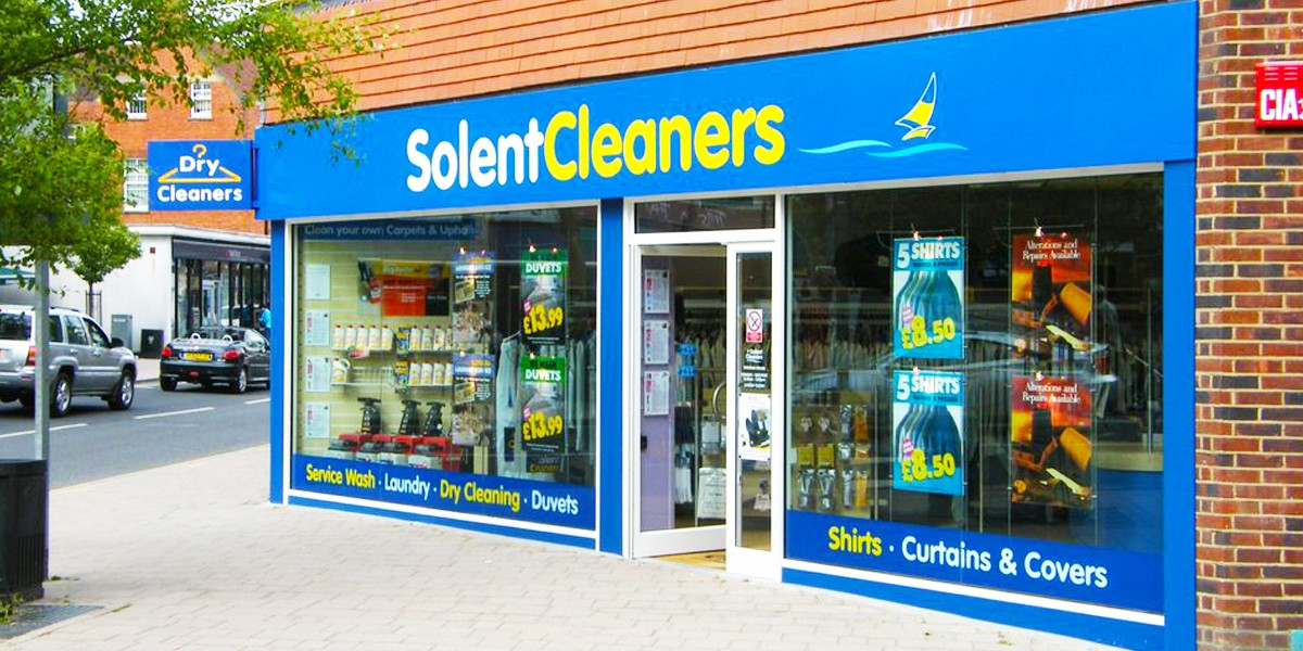 Solent Cleaners shop