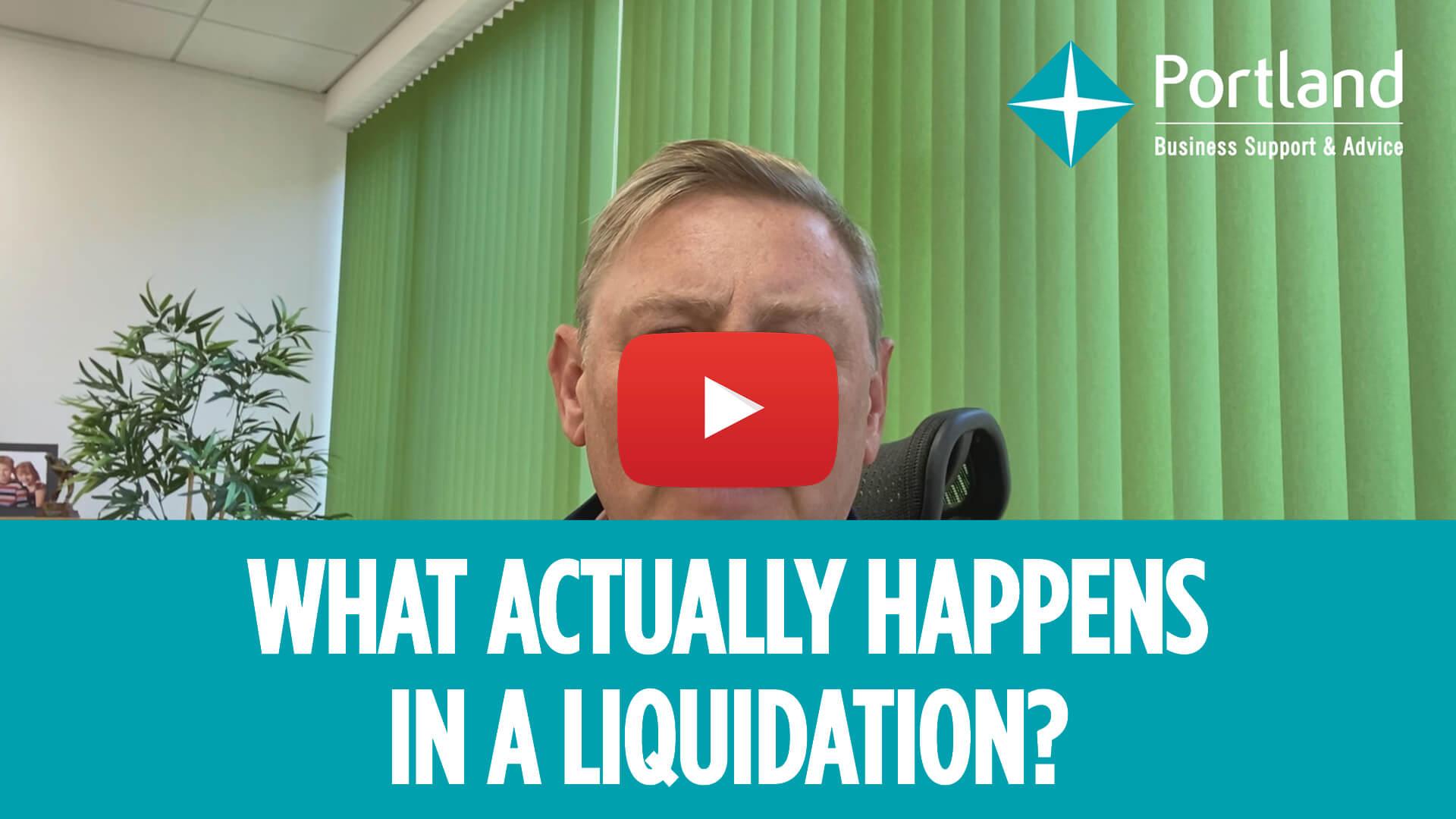 what happens in liquidation